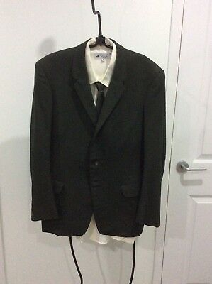 Genuine Vintage Men's Suit circa 1950's/1940's -see photo from the era