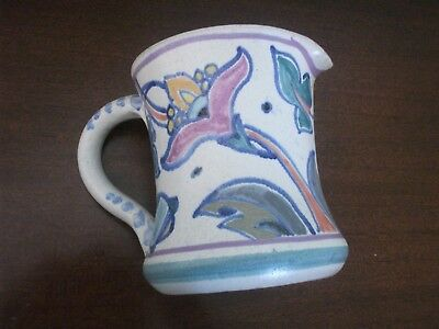 Lovely Honition Collard era jug  Jacobean pattern V G Condition
