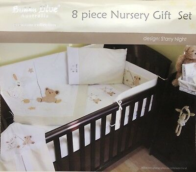 Bubba Blue 'Starry Night' Premium Collection 8 Piece Nursery Gift Set
