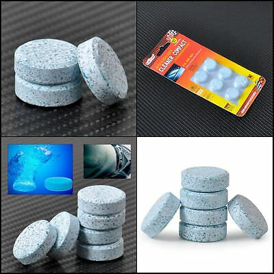 6 PCS Car Windshield Glass Washer Detergent Compact Effervescent Tablets SUPERB