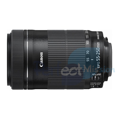 100% NEU Canon EF-S 55-250mm f/4-5.6 IS STM Bulk Pack