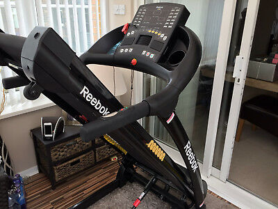 REEBOK ZR8 Treadmill, variable speed/incline with pulse monitor & MP3 connection
