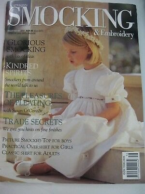 No.56 Australian Smocking & Embroidery Country Bumpkin Pleating Picture Boy Girl