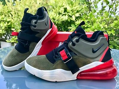 5d169b1d9 NIKE AIR FORCE 270 Medium Olive/Black/Challenge Red *AH6772-200* EU ...