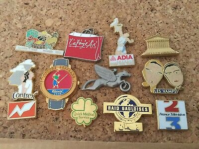 12 pins arthus bertrand vamps contrex adia montre etc