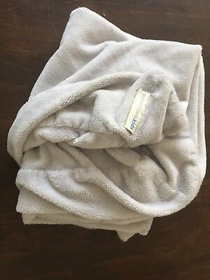 Pottery Barn Kids gray changing pad cover, chamois super soft
