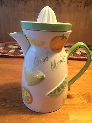 ⭐️Vintage Napco Juice Pitcher with Reamer⭐️