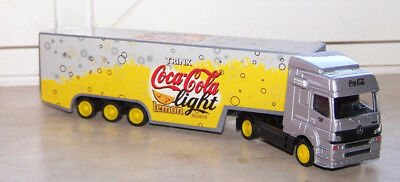 MB Truck w.T.Coca-Cola lemon light,Diecast,Loose,S.1:87