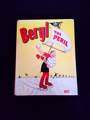 Beryl the Peril Annual 1971 Rare Vintage U.K Comic Hardback Book