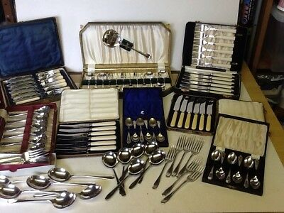 Vintage Cutlery Job Lots