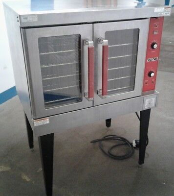 VULCAN  VC4ED DEV Single Deck Commercial Convection Stainless Steel Oven.