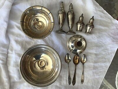 Lot Of Weighted Sterling 955 Grams