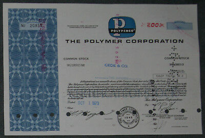 The Polymer Corporation 1973 200 Shares .
