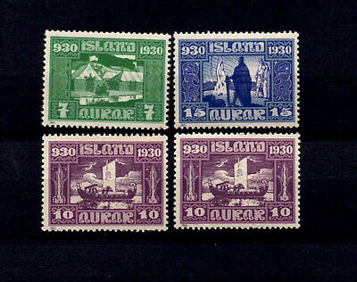 Iceland 1930 Parliament Celebrations Mnh