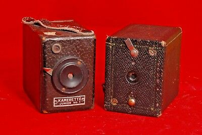 Kamerette Junior No. 4 Box Camera circa 1930. &  NO, 00 CARTRIDGE PREMO  1916-22