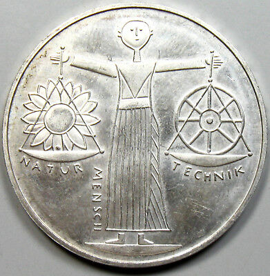 2000-A Germany Silver 10 Mark - 2000 Hannover World Expo