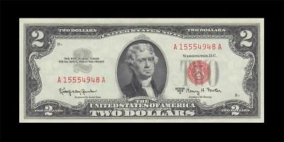 1963-A UNITED STATES TWO DOLLARS $2 (( aUNC ))