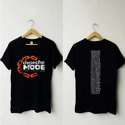 New Depeche Mode 1985 Some Great Reward Tour New T-Shirt Gildan Size S to 3XL