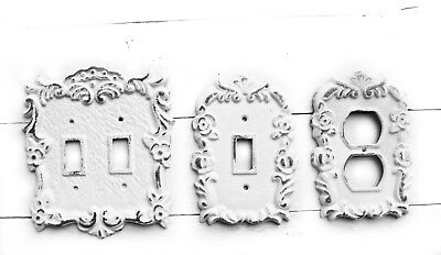 Shabby Chic Light Switch Cover Plates Farmhouse Lighting Vintage Home Decor
