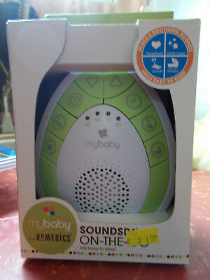 MyBaby by Homedics Soundspa On the Go 4 Soothing Sounds Lull Baby to Sleep