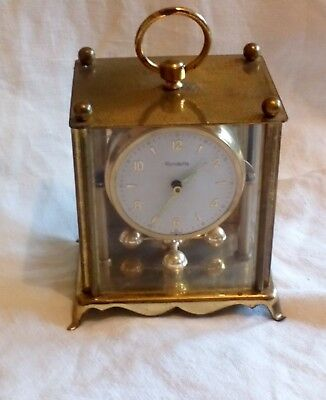 Small Vintage Anniversary Clock Rondette For Spares Or Repair