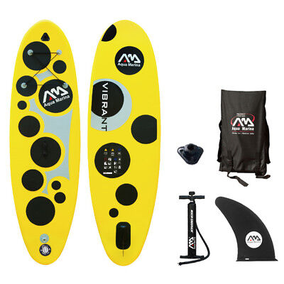 VIBRANT SUP Stand Up Paddle Board Inflatable Surfbrett Paddel Boot Rucksack Kit