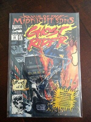 Rare Ghost Rider 28 Vol 2 Never Opened Polybag Key 1st Appearance Nightstalkers