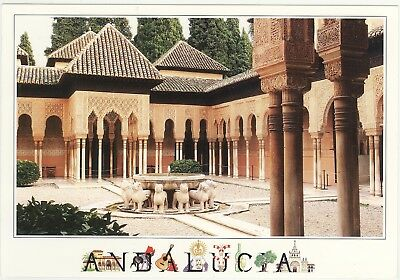 Andalucia - La Alhambra - Granada Posted Stamp Intact