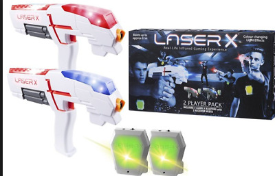 Laser X 2 Player Pack Infrared Lazer Game NEW