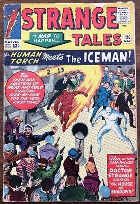 Strange Tales 120 / Solid VG / 1st Iceman Crossover