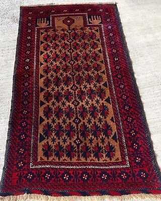 Tapis pers Baloutche noue fait main  rugs carpet tappich tappeto alfombra 160x87