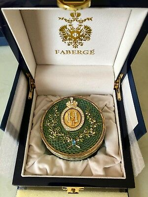 Rare FABERGE Imperial Jewelry box