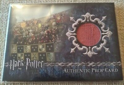 Harry Potter Goblet of Fire stadium banners Material P7 Prop Card 382/425