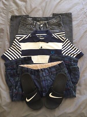 Gap, Fred Perry, Nike Bundle 9-10 Years In Good Condition
