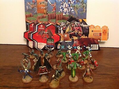 Heroscape Malliddon's Prophecy all 4 sets complete with cards 25 figures Taelord