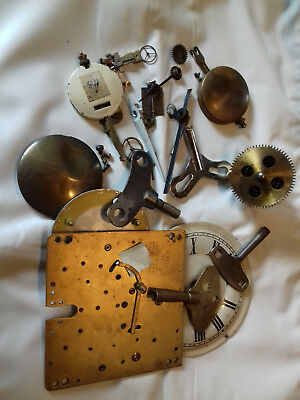 antique clock parts for clock repair