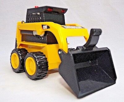 "Caterpiller Lights & Sounds 5"" Plastic Skid Steer Loader EUC"