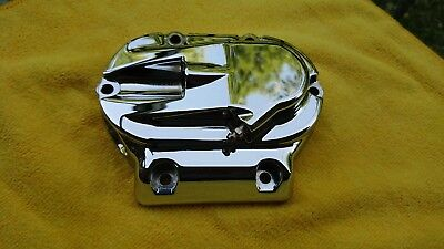 Harley Touring Electra CVO 06 Chrome Hydraulic Transmission Clutch Cover 5 Speed