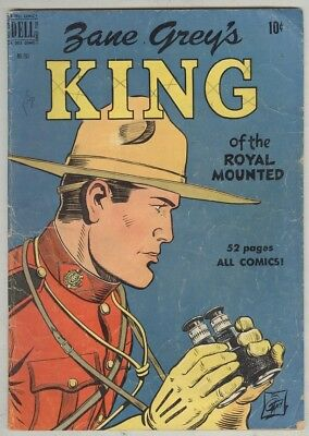 Four Color #283 VG- 1950 Zane Grey's King of the Royal Mounted