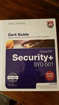 Comptia security sy0-501