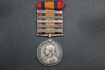 Queen's South Africa Medal -Commander in Chief's Body Guard!