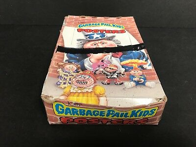 1986 Topps GARBAGE PAIL KIDS Posters Unopened Wax Pack Box 36ct  NOS