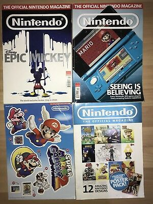 The Official Nintendo Magazine - Issues 63, 66 + 12 Page Poster Booklet