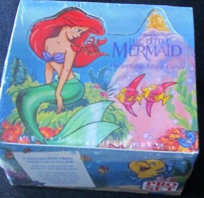 Disneys THE LITTLE MERMAID Collectable Story Cards, NIB, Sealed, 1991