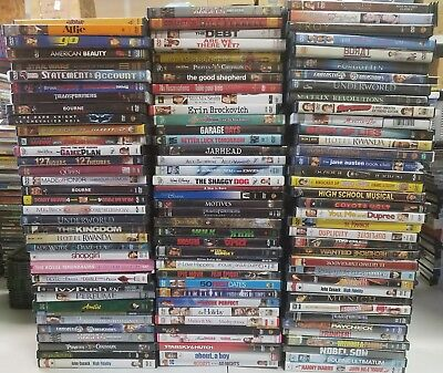 Wholesale Lot of 65+ Assorted DVD movies
