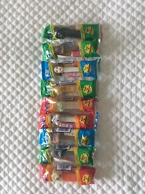 Pez Star Wars lot of 9 in package unopened
