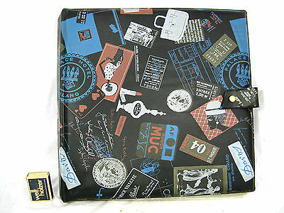 50´s design 12 inch LP record wallet  /  LP Schallplatten Mappe mit Index  08335