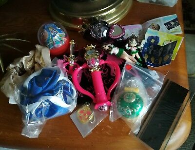 Sailor Moon Random lot of Stuff - Film Strip, Pouch, Keychains, Sailor Jupiter
