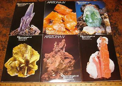 MINERALOGICAL RECORD MAGAZINE Vol 14 1983 All 6 Issues Complete Minerals Crystal