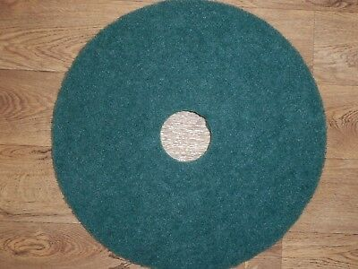 5 - GREEN 17 inch Scrubber Pads. An absolute steal at only £12.95. Free Postage.